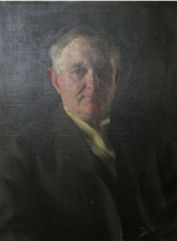 Zorn, Ritratto del dr. Ira De Ver Warner | Porträtt av Dr Ira De Ver Warner | Portrait of Dr. Ira De Ver Warner