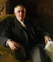 Zorn, Ritratto del dr. Ira De Ver Warner | Porträtt föreställande Dr Ira de Ver Warner | Portrait of Dr. Ira de Ver Warner