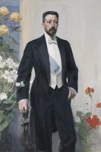 Zorn, Ritratto del principe Eugenio | Porträtt av prins Eugen | Portrait of Prince Eugen