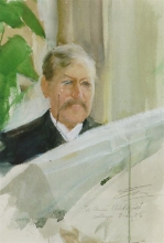 Zorn, Ritratto dell'ingegnere Claes Adelskjöld | Porträtt av ingenjören Claes Adelskjöld | Portrait of the engineer Claes Adelskjöld