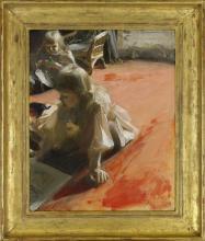 Zorn, Ritratto delle figlie di Ramón Subercaseaux | Porträtt av döttrarna till Ramón Subercaseaux Vicuña | A portrait of the daughters of Ramón Subercaseaux