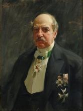 Zorn, Ritratto di Carl August Kjellberg | Porträtt av Carl August Kjellberg | Portrait of Carl August Kjellberg