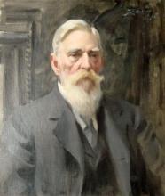 Zorn, Ritratto di Carl Axel Söderlund | Porträtt av Carl Axel Söderlund | Portrait of Carl Axel Söderlund