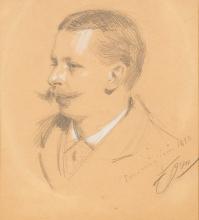 Zorn, Ritratto di Carl David af Wirsén | Porträtt av Carl David af Wirsén | Portrait of Carl David af Wirsén
