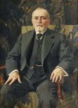 Zorn, Ritratto di Carl Jonsson | Porträtt föreställande Carl Jonsson | Portrait of Carl Jonsson