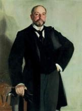 Zorn, Ritratto di Edward Livingston Davis | Portrait of Edward Livingston Davis