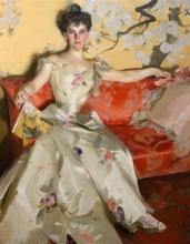 Zorn, Ritratto di Elizabeth Sherman Cameron | Portrait d'Elizabeth Sherman Cameron | Portrait of Elizabeth Sherman Cameron
