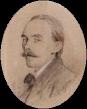 Zorn, Ritratto di Erik Norman, membro del Parlamento   Porträtt av Erik Norman, Riksdagsman   Portrait of Erik Norman, member of Parliament