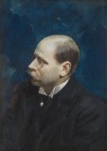 Zorn, Ritratto di Ernst Morris Bratt | Porträtt föreställande Ernst Morris Bratt | Portrait of Ernst Morris Bratt