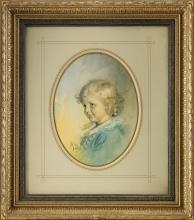 Zorn, Ritratto di Ernst Setterwall da bambino   Porträtt av Ernst Setterwall som barn   Portrait of Ernst Setterwall as a child