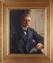 Zorn, Ritratto di Frans Heiss jr. | Porträtt av disponent Frans Heiss jr. | Portrait of Franz Heiss jr.