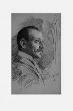 Zorn, Ritratto di Hugo Falander | Portrait of Hugo Falander