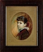 Zorn, Ritratto di Julia Dölling | Porträtt av Julia Dölling | Portrait of Julia Dölling