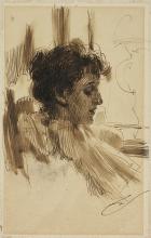 Zorn, Ritratto di Marion Whipple Deering | Portrait of Marion Whipple Deering