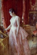 Zorn, Ritratto di Miss Anna Cassel, futura Mrs. A. E. Jenkins | Porträtt av Anna Cassel | Portrait of Anna Cassel | Portrait of Miss Anna Cassel, later Mrs. A E Jenkins