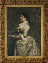 Zorn, Ritratto di Mrs. John Hay, nata Clara Stone | Portrait of Mrs. John Hay, née Clara Stone