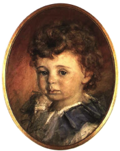 Zorn, Ritratto di Nils Geber bambino | Gossporträtt av Nils Geber | Portrait of Nils Geber as a child