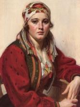 Zorn, Ritratto di Ols Maria [dettaglio] | Porträtt av Ols Maria [detalj] | Portrait of Ols Maria [detail]