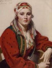 Zorn, Ritratto di Ols Maria | Porträtt av Ols Maria | Portrait of Ols Maria