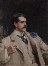 Zorn, Ritratto di William B. Ogden | Portrait of William B. Ogden