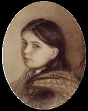 Zorn, Ritratto di bambina   Flickporträtt   Child porytrait