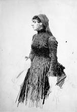Zorn, Ritratto di donna | Kvinnoporträtt | Woman's portrait
