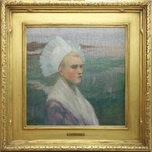 Zorn, Ritratto di una giovane donna | Porträtt av en jungfru | Portrait of a maiden