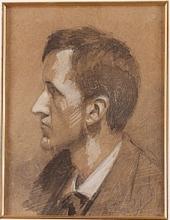 Zorn, Ritratto maschile | Mansporträtt | Man's portrait