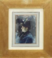 Zorn, Signora in azzurro | Dam i blätt | Lady in blue