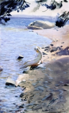 Zorn, Studio di spiaggia, arcipelago | Beach study, Archipelago