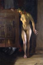 Zorn, Sulla porta del granaio [1910].jpg