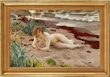 Zorn, Sulla sabbia | I sanden | On the sand