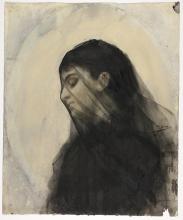 Zorn, Testa di una donna velata | Head of a veiled woman