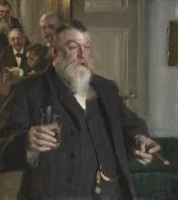 Zorn, Un brindisi alla Idun | En skål i Idun | A toast in the Idun Society