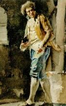 Zorn, Uomo in costume rococò | Man i Rokokokostym | Man wearing Rococo costume