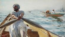 Zorn, Vogatore di caicco III | Kaikroddare III | Caique oarsman III