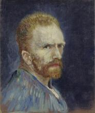 van Gogh, Autoritratto   Autoportrait   Self portrait