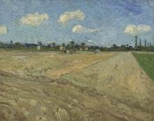 van Gogh, Campi arati (I solchi)   Geploegde akkers (`De voren')   Champs labourés ('Les sillons')   Ploughed field ('The furrows')