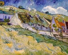 van Gogh, Capanne | Hutten | Chaumières | Thatched cottages