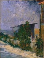 van Gogh, Capanno a Montmartre | Abri à Montmartre | Shelter on Montmartre