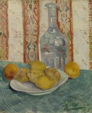 van Gogh, Caraffa e piatto di agrumi | Karaf en schotel met citrusvruchten | Carafe et plat aux agrumes | Carafe and dish with citrus fruits