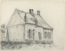 van Gogh, Casa Magros, Cuesmes | Maison Magros, Cuesmes | The Magrot House, Cuesmes