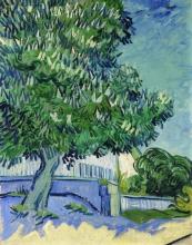 van Gogh, Castagni in fiore | Marronnier en fleur | Bloeiende kastanjebomen | Blossoming chestnut trees