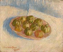van Gogh, Cestino con mele | Mand met appels | Panier avec pommes | Basket with apples
