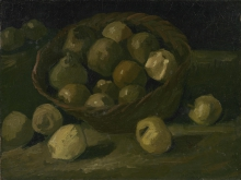 van Gogh, Cesto con mele | Man met appels | Panier de pommes | Basket of apples