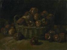 van Gogh, Cesto con mele | Mand met appels | Panier de pommes | Basket of apples