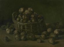 van Gogh, Cesto con patate   Mand met aardappels   Panier avec pommes de terre   Basket with potatoes
