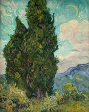 van Gogh, Cipressi | Cyprés | Cipressen | Cypresses