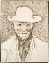 van Gogh, Contadino della Carmargue | Paysan de la Carmargue | Peasant of the Camargue