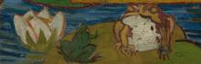 van Gogh, Cortigiana (da Eisen) [dettaglio 4]